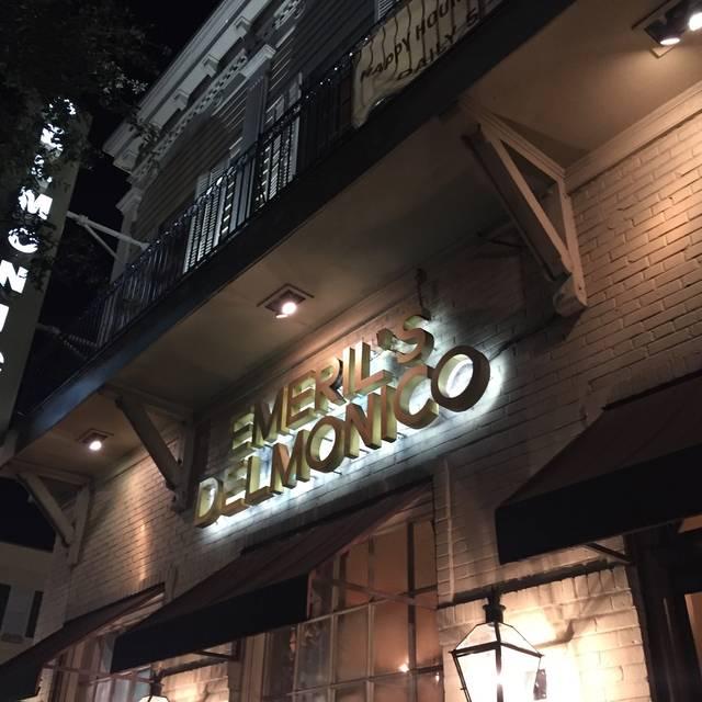 Emeril's Delmonico, New Orleans, LA