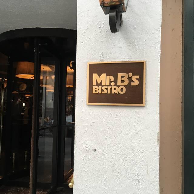 Mr. B's Bistro, New Orleans, LA