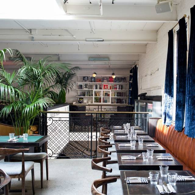 The Metrograph Commissary Restaurant