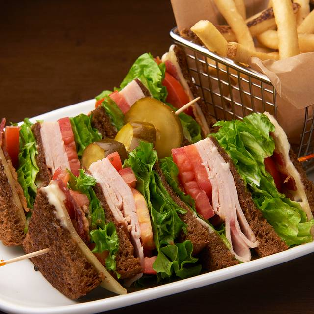 Tripledecker turkey sandwich - 82Fifty Restaurant, Dallas, TX