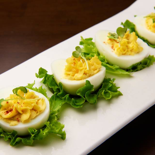 Deviled eggs - 82Fifty Restaurant, Dallas, TX