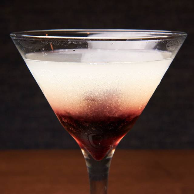 Doublecross hibiscus martini - 82Fifty Restaurant, Dallas, TX