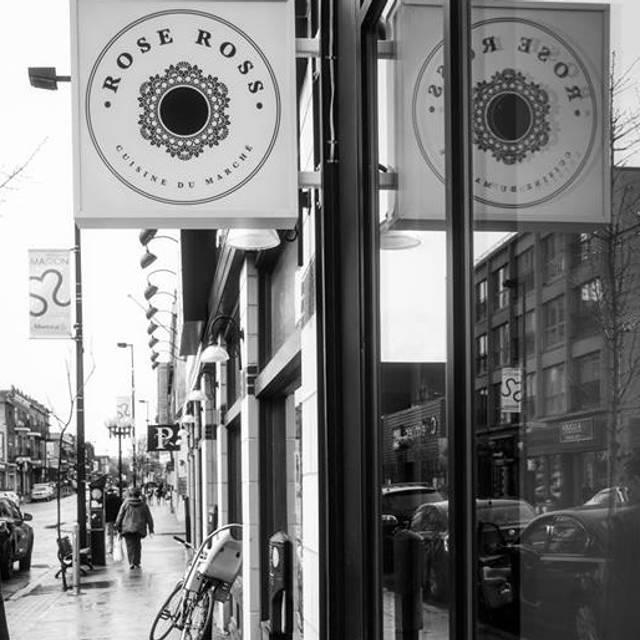 Facade - Rose Ross, Montréal, QC