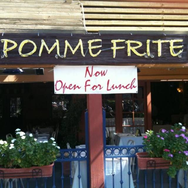 Pomme Frite, Palm Springs, CA