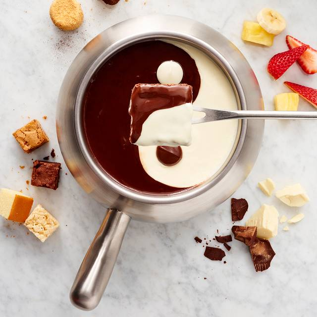 Yin Yang Chocolate Fondue - The Melting Pot - Pensacola, Pensacola, FL