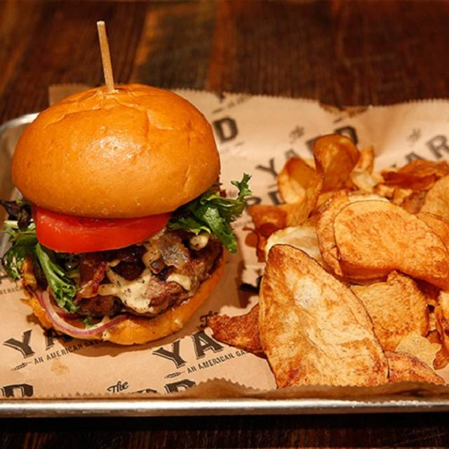 The Yard Burger - The Yard Gastropub Mt. Lebanon, Pittsburgh, PA
