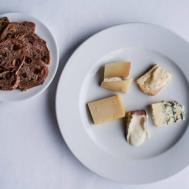 Cheese plate - Jardiniere, San Francisco, CA
