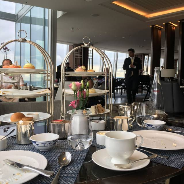 Afternoon Tea at Ting, Shangri-La At The Shard, London