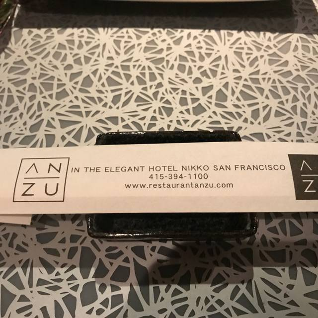 ANZU, San Francisco, CA