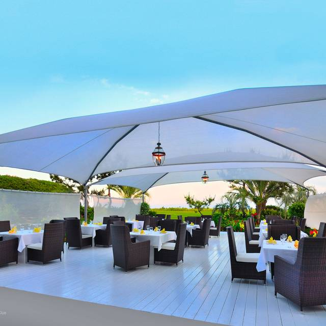 Outdoor Dining - East - Blockade Runner Beach Resort, Wrightsville Beach, NC