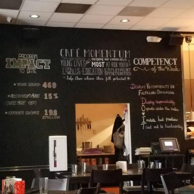 Cafe Momentum, Dallas, TX