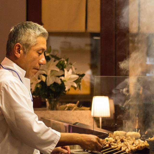 Taisho At Work - Yakitori Hachibei - Chinatown Hawaii, Honolulu, HI
