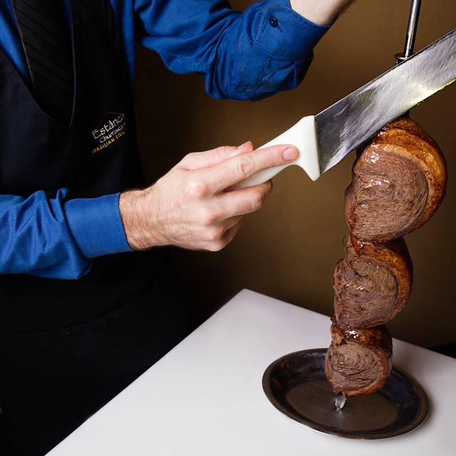 Cutting Picanha - Estancia Churrascaria Brazilian Steakhouse - Arboretum, Austin, TX