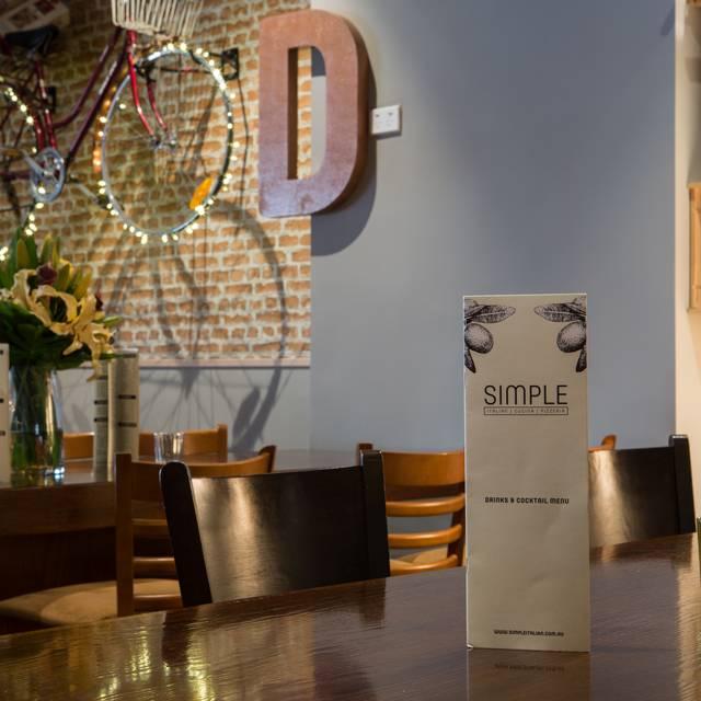 Simple Italian Cucina Pizzeria Restaurant - Perth, AU-WA | OpenTable