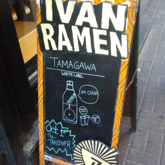 Ivan Ramen, New York, NY