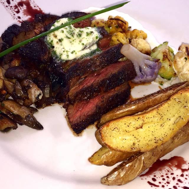 Hanger Steak - Symphony Hotel Restaurant, Cincinnati, OH