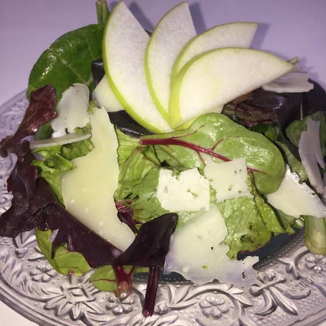 Sliced Apples On Salad - Symphony Hotel Restaurant, Cincinnati, OH