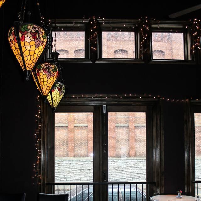 Lamps - Symphony Hotel Restaurant, Cincinnati, OH