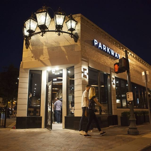 Parkway Social Kitchen Menu