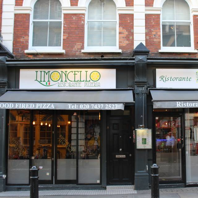 Limoncello Ristorante Pizzeria, London