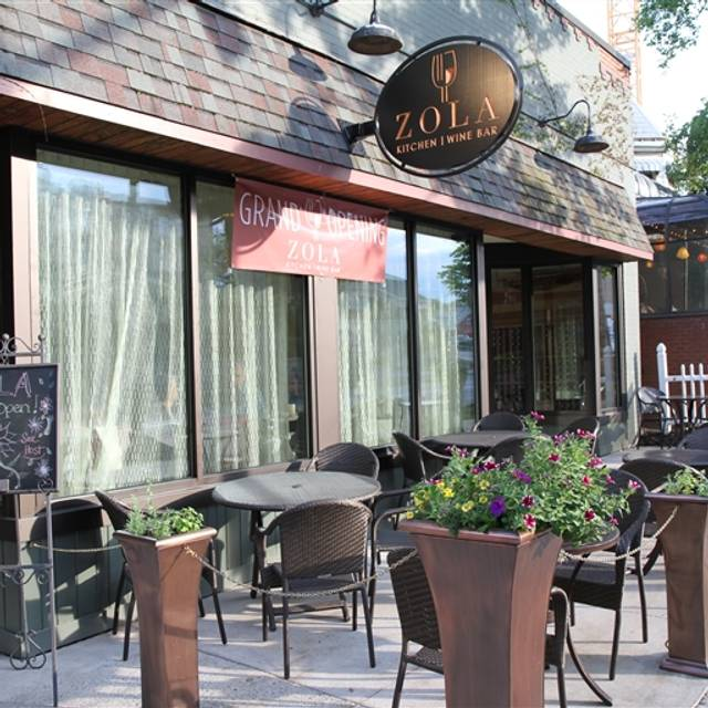 Zola Kitchen & Wine Bar, State College, PA