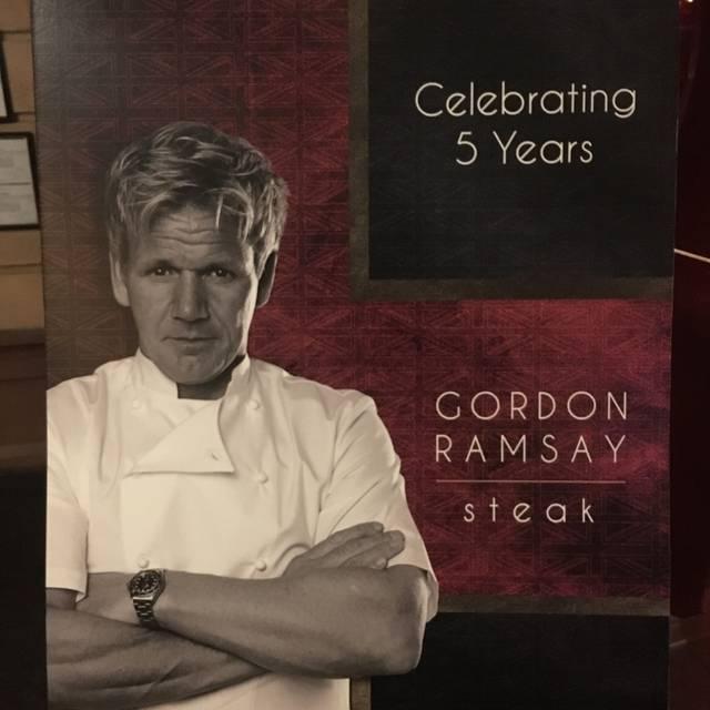 Gordon Ramsay Steak - Paris Las Vegas, Las Vegas, NV