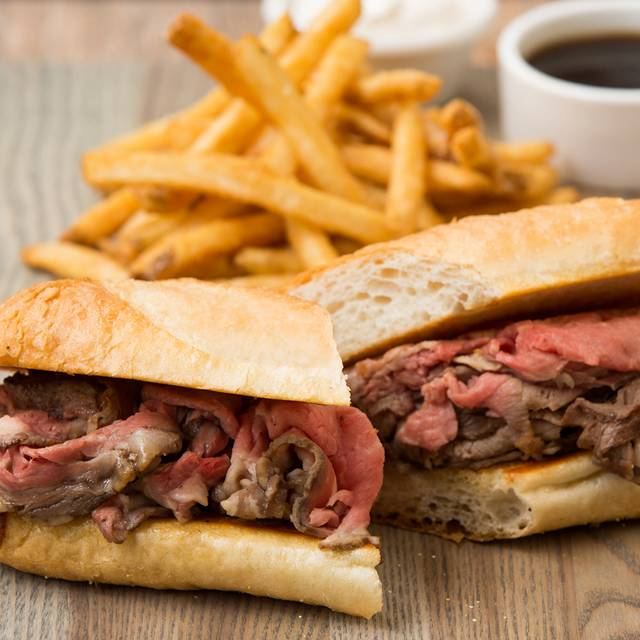 Prime Rib Dip - BJ's Restaurant & Brewhouse - Arbor Walk, Austin, TX