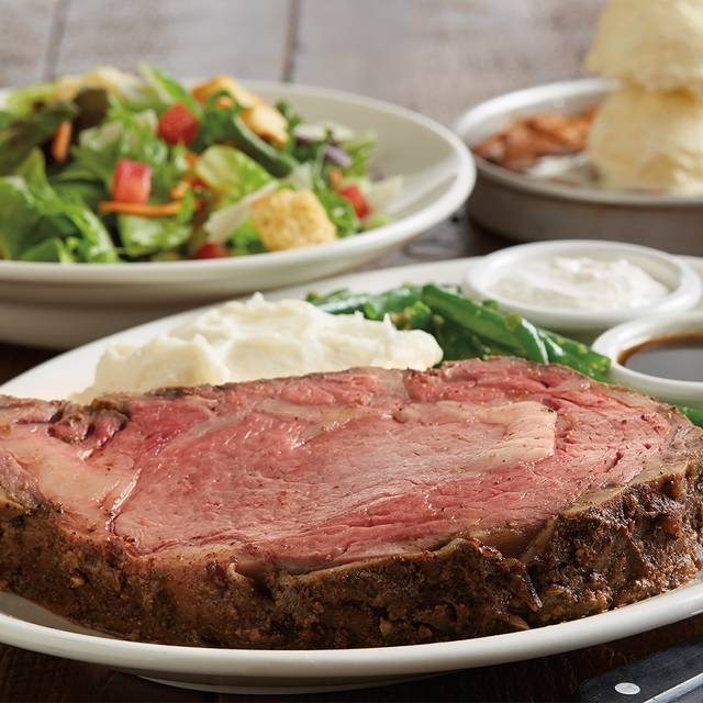 Prime Rib Combo - BJ's Restaurant & Brewhouse - Valley River, Eugene, OR