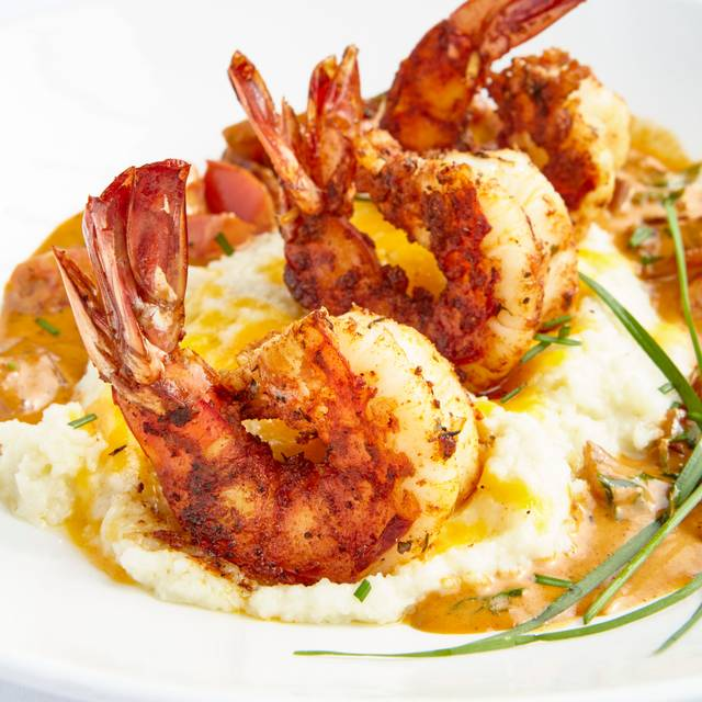 Shrimp & Grits (lunch) - Al Biernat's - Oak Lawn, Dallas, TX