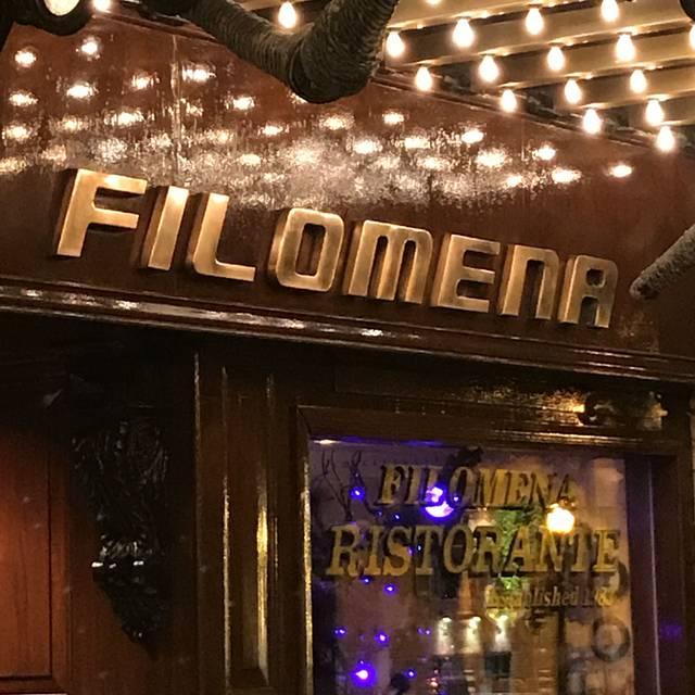 Filomena Ristorante, Washington, DC