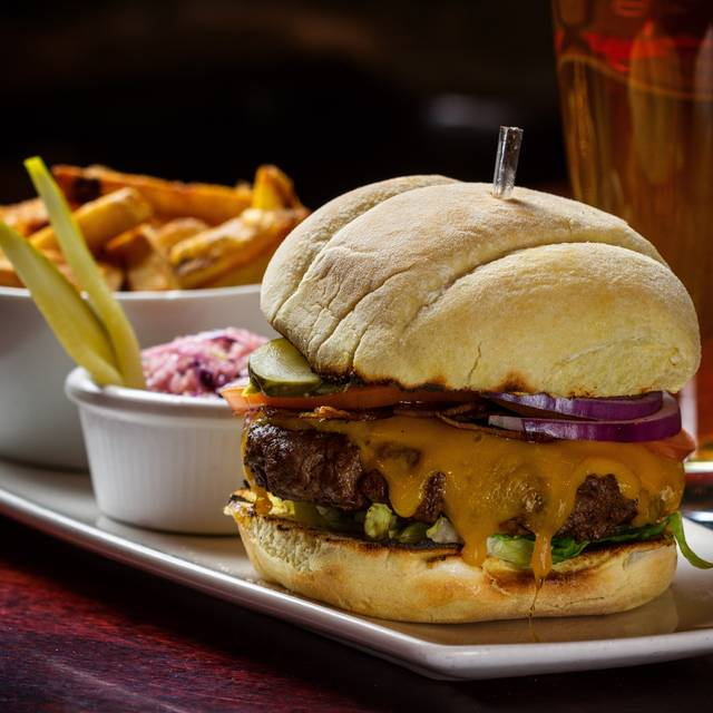 Barley Room Burger X - The Waring House, Picton, ON