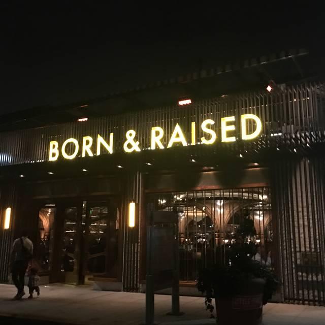 Born & Raised, San Diego, CA