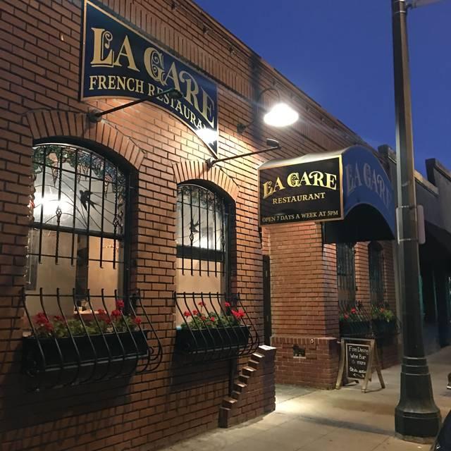La Gare French Restaurant, Santa Rosa, CA