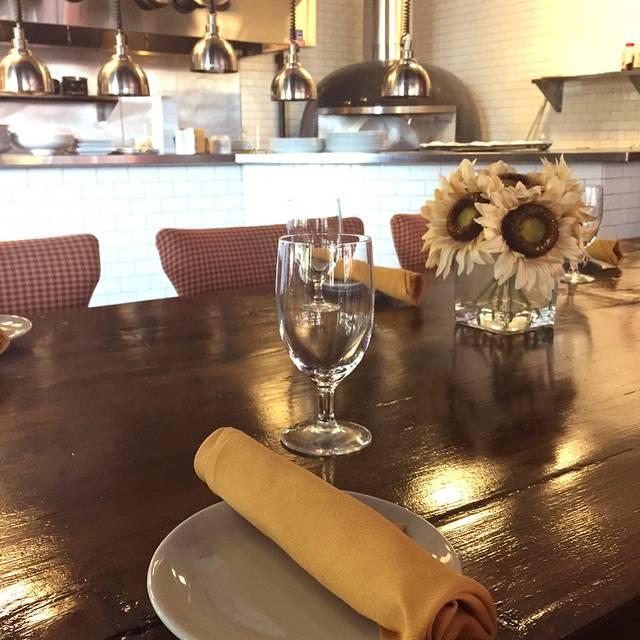 Dinning Area And Pizza Oven - La Favola, Fairfax, VA