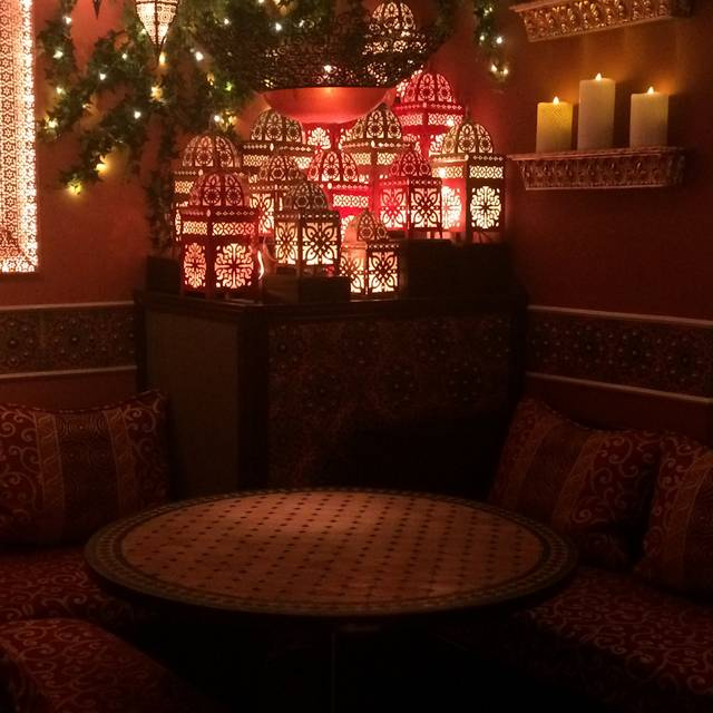 The casbah restaurant calgary ab opentable for Best private dining rooms calgary