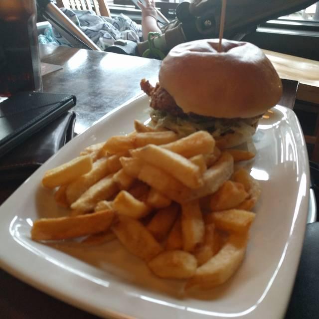 Borealis Kitchener Dinner Menu