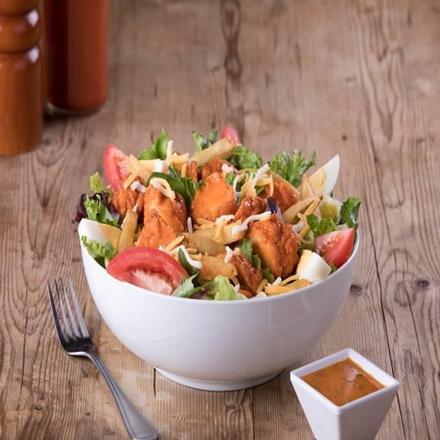 Crispy Buffalo Chicken Salad - Kings Family Restaurant - Neville Island, Pittsburgh, PA