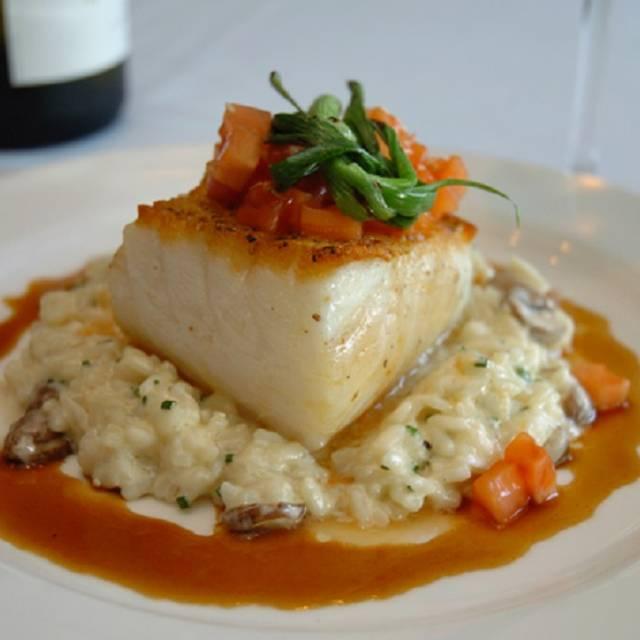 Salmon And Risotto - La Vela Dining & Bar, New York, NY