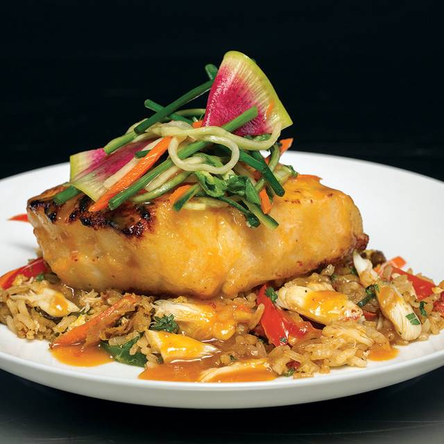 Truluck's Miso-glazed Seabass - Truluck's Seafood, Steak and Crab House - Austin Downtown, Austin, TX