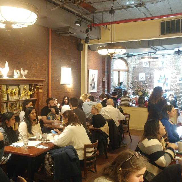 Cupping Room Cafe Restaurant - New York, NY | OpenTable