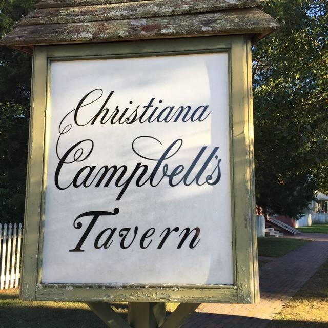 Christiana Campbell's Tavern, Williamsburg, VA