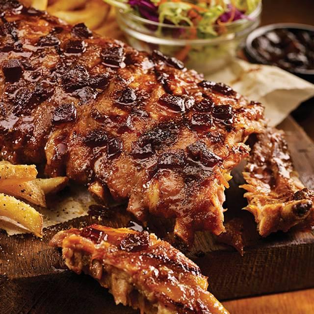 Jack Daniels Ribs With Shrimp - TGI FRIDAYS - Pigeon Forge, Pigeon Forge, TN