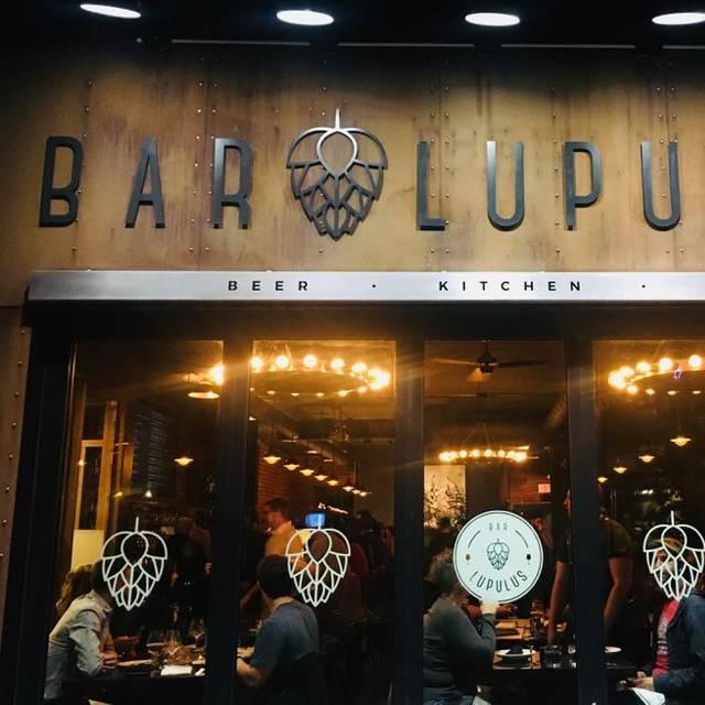 Lupulus - Bar Lupulus, Ottawa, ON