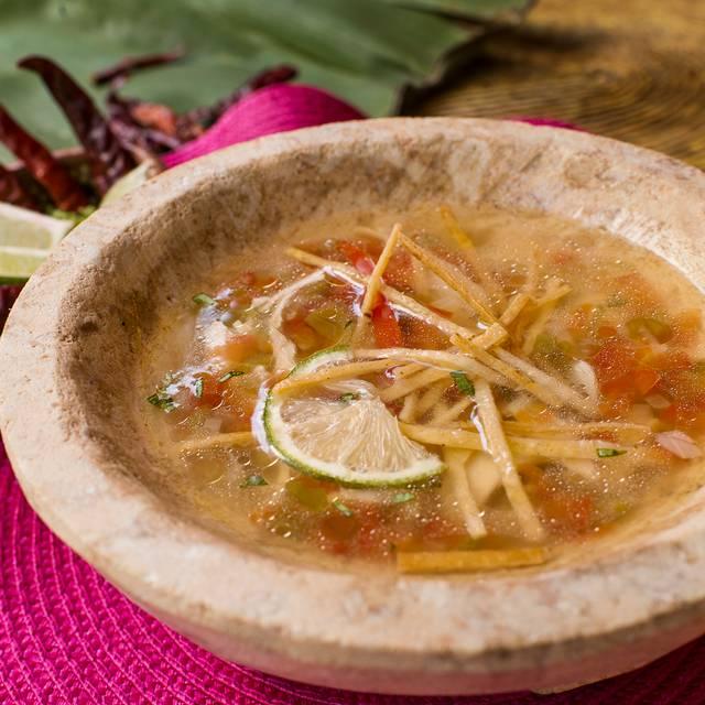 Sopa De Lima - Mexico Lindo Cooking Restaurant, Puerto Morelos, ROO
