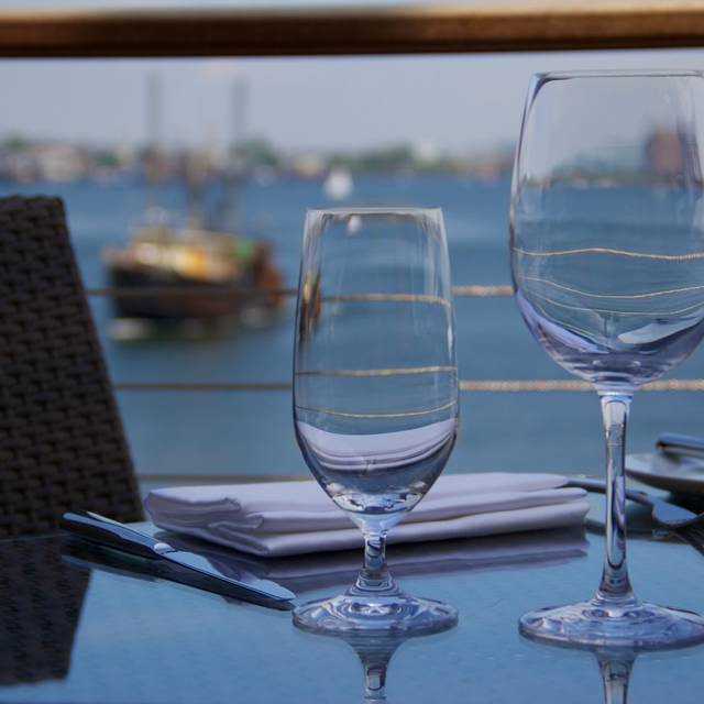 Patio - Legal Harborside – Floor 2 Dining Room, Boston, MA
