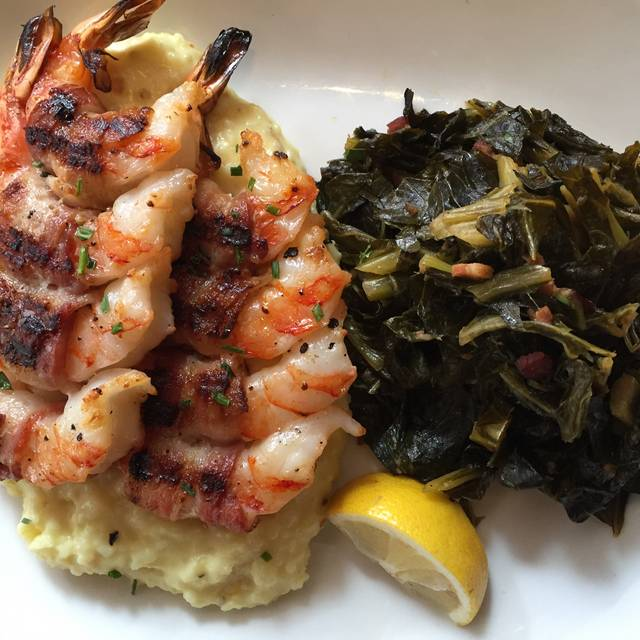 Shrimp and Grits - Legal Sea Foods - Atlanta, Atlanta, GA