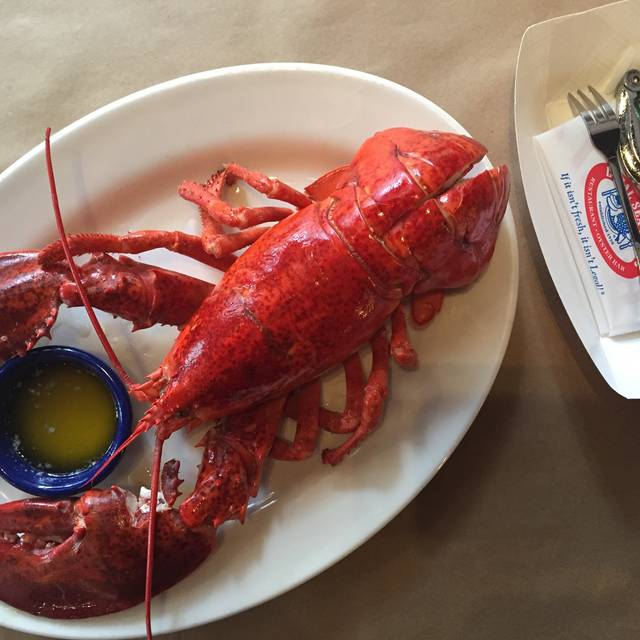 Steamed Lobster - Legal Sea Foods - Chestnut Hill, Chestnut Hill, MA