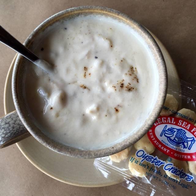 New England Clam Chowder - Legal Sea Foods - Kendall Square, Cambridge, MA