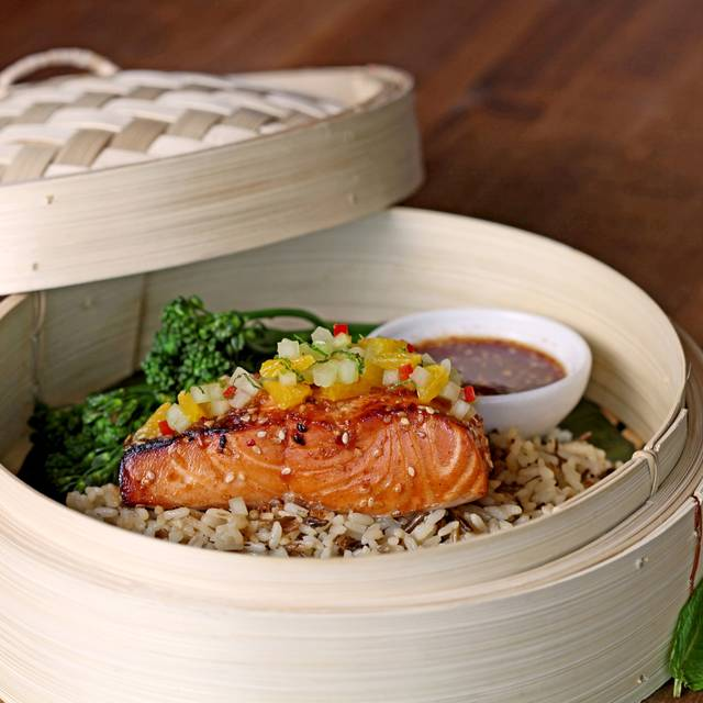 Citrus Soy Glazed Salmon - Chop Steakhouse & Bar - Toronto Airport/Hotel District, Etobicoke, ON