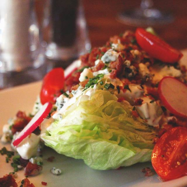 Wedge Salad - Chop Steakhouse & Bar - Barlow, Calgary, AB